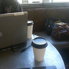 Photo taken at Java on Sherman by İlke T. on 10/17/2013