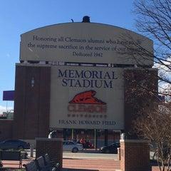 Photo taken at Memorial Stadium by Walter B. on 1/31/2013