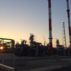 Photo taken at KNPC - MAB Refinery by Yousef A. on 2/9/2014