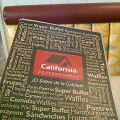 Photo taken at California Restaurante by Mario P. on 8/4/2013