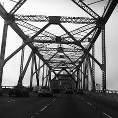 Photo taken at San Francisco-Oakland Bay Bridge by Bianca P. on 11/25/2012