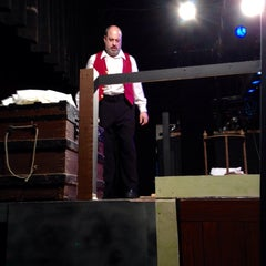 Photo taken at Footlighters Theater by Allen P. on 10/26/2014