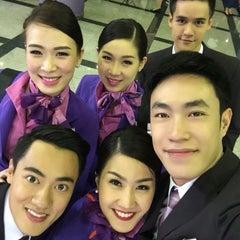 Photo taken at ศูนย์ลูกเรือ (Thai Airways Crew Center Laksi) by __auii on 7/21/2015