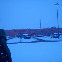 Photo taken at Auchan Pilis by Szilvia S. on 2/10/2013
