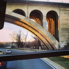Photo taken at John Philip Sousa Bridge by PiRATEzTRY on 3/28/2013