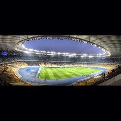 Photo taken at НСК «Олімпійський» / Olimpiyskiy Stadium by Tipsterovich on 10/27/2013