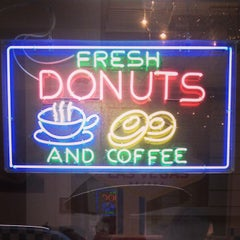 Photo taken at American Donuts by Loris M. on 3/20/2013