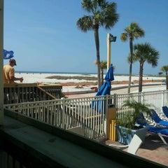 Photo taken at Sloppy Joe's On The Beach by Judy M. on 2/10/2013