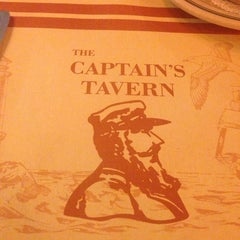 Photo taken at Captain's Tavern by Tray R. on 9/18/2014