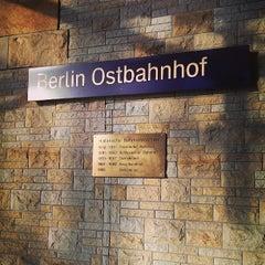 Photo taken at Berlin Ostbahnhof by Nicole W. on 7/3/2013