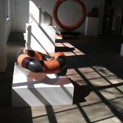Photo taken at The Noguchi Museum by Katie A. on 4/5/2013