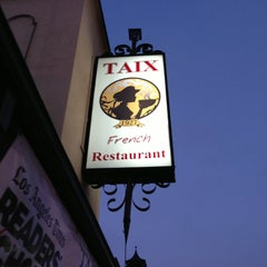 Photo taken at TAIX French Restaurant by Mike O. on 6/8/2013