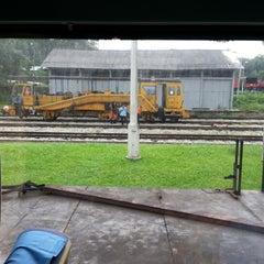 Photo taken at Stesen Keretapi Kluang by Abd Rahim H. on 12/26/2012