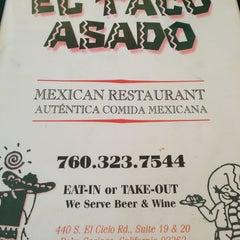 Photo taken at El Taco Asado by Cicada C. on 2/4/2013