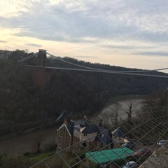 Photo taken at Avon Gorge Hotel by Andy H. on 3/29/2014