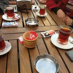 Photo taken at Simit Sarayı by Nurcan T. on 2/3/2013