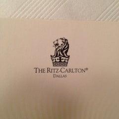 Photo taken at The Ritz-Carlton, Dallas by Samit P. on 10/24/2012