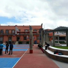 Photo taken at Universidad La Salle Pachuca Campus La Luz by Karla G. on 8/11/2014