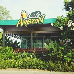 Photo taken at Café Amazon (คาเฟ่ อเมซอน) by Panupong S. on 6/17/2015