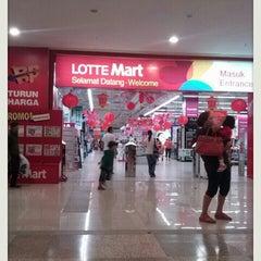Photo taken at LotteMart by Yopie S. on 2/16/2013