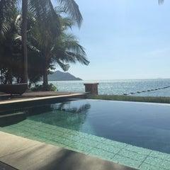 Photo taken at Pattaya Sea Sand Sun Resort And Spa by Wanatchaporn S. on 4/18/2015