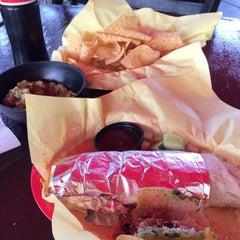 Photo taken at America's Taco Shop by Karina R. on 3/4/2014
