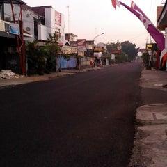 Photo taken at Jalan Taman Siswa by Leonardus P. on 8/9/2013