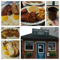 Photo taken at Cooperstown Diner by Edna L. on 6/18/2015