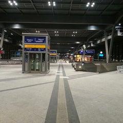 Photo taken at Bahnhof Berlin Südkreuz by Boyan B. on 3/20/2013
