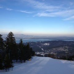 Photo taken at Gunstock Mountain Resort by Julia N. on 1/8/2013