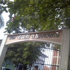 Photo taken at SMA Negeri 11 Bandung by Misbah w. on 6/5/2013