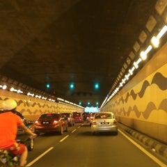 Photo taken at Jalan Tun Razak Tunnel by NAQSZADA on 8/9/2014