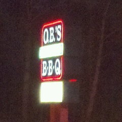 Photo taken at O.B.'s BBQ by Crystal B. on 12/29/2012