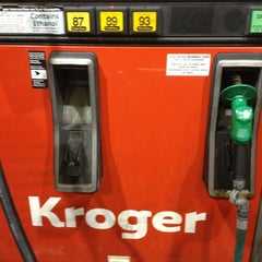 Photo taken at Kroger Gas by Jim S. on 3/4/2013