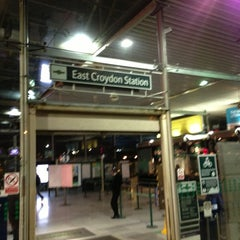 Photo taken at East Croydon Railway Station (ECR) by Mil H. on 2/9/2013