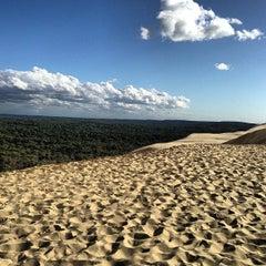 Photo taken at Dune du Pilat by Eric S. on 3/23/2013