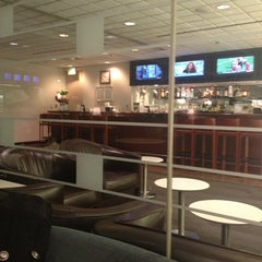 Photo taken at United Club by Brandon on 1/1/2013
