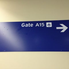 Photo taken at Gate A15 by Shoshana B. on 12/30/2012