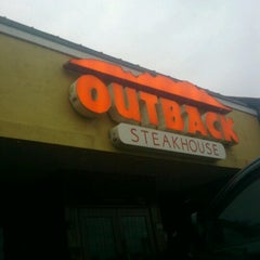 Photo taken at Outback Steakhouse by Nick C. on 1/17/2013