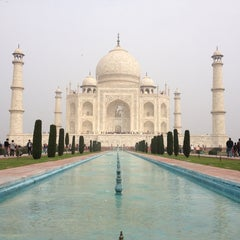 Photo taken at Taj Mahal | ताज महल | تاج محل by Arood D. on 2/4/2013