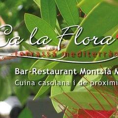 "Photo taken at Bar Restaurant Montsia Mar ""Ca la Flora"" by Inka A. on 9/8/2013"
