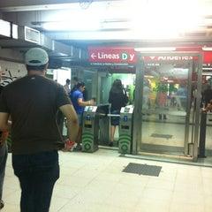 Photo taken at Estación Diagonal Norte [Línea C] by Marisa A. on 11/16/2012