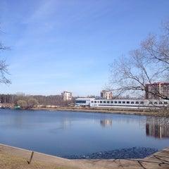 Photo taken at Ольгинский пруд by Nikita H. on 4/29/2013