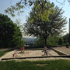 Photo taken at Negley Park by Stephanie S. on 5/7/2015