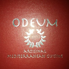 Photo taken at Odeum-Mediterranean Cuisine by Evan S. on 1/15/2013