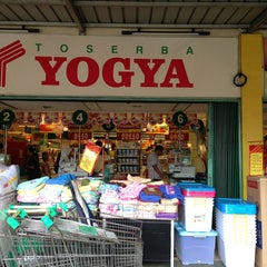 Photo taken at YOGYA Supermarket by Boby A. on 1/24/2013