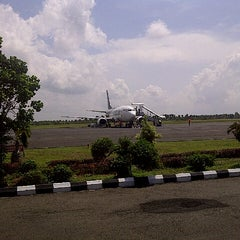 Photo taken at Bandara Radin Inten II Lampung Selatan (TKG) by ★Anggapung™ on 10/17/2012