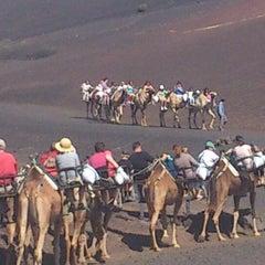 Photo taken at Parque Nacional de Timanfaya by Arturo M. on 3/30/2013