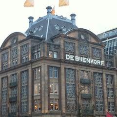 Photo taken at De Bijenkorf by Sirleny G. on 12/15/2012