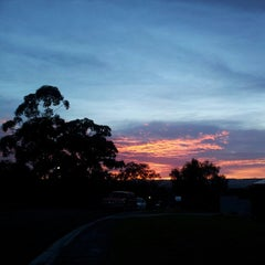 Photo taken at Warners Bay by Fiona M. on 9/19/2012